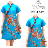 Baju Batik Dress Murah Shanghai