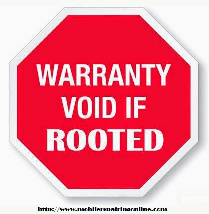 your android phone void warranty