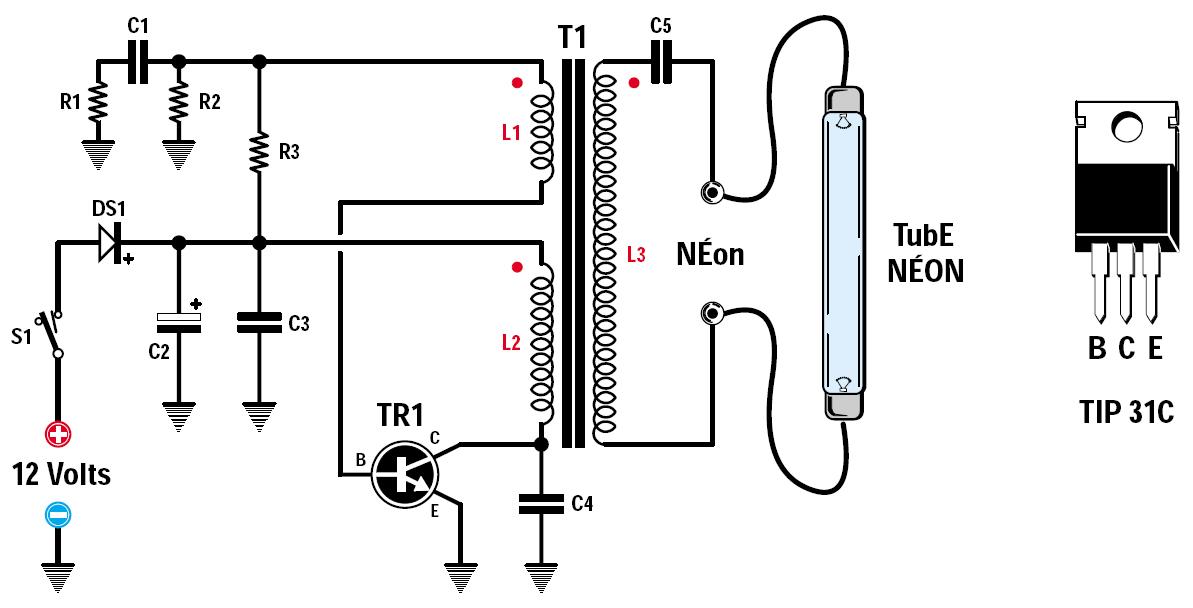 schema circuit neon