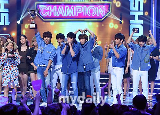 Infinite 2nd Win MBC Show Champion