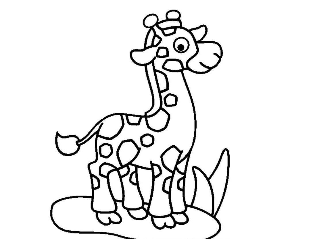 Colorear jirafa