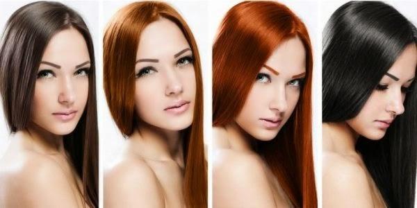 Bisa jadi, warna rambut yang digunakan tidak sesuai rona warna kulit