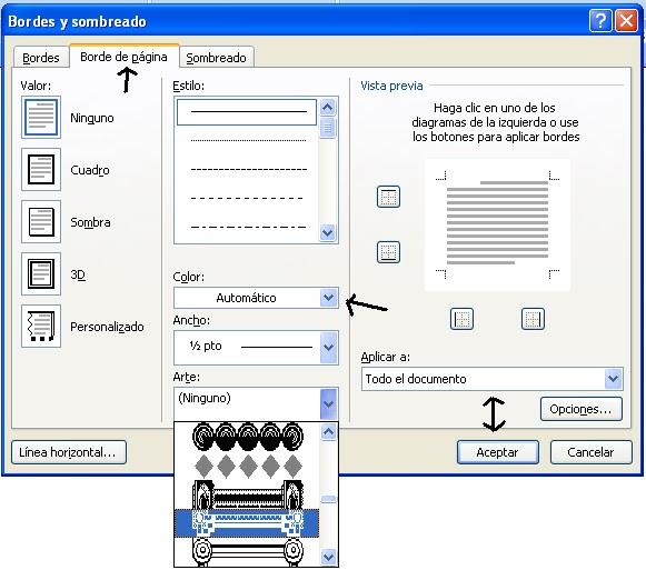 Pasos para colocar bordes en Microsoft Word | A mi manera