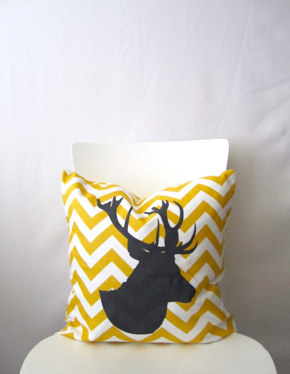Animal Silhouette Pillow Covers : smartgirlstyle: Tutorial for Animal Silhouette Throw Pillows