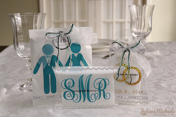 SRM Stickers CHA 2014 Wedding Favors by Juliana Michaels