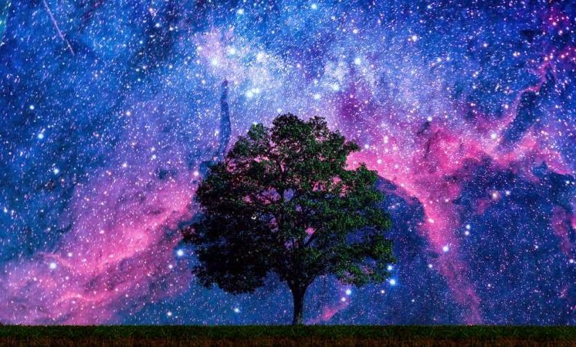 rój meteorytów