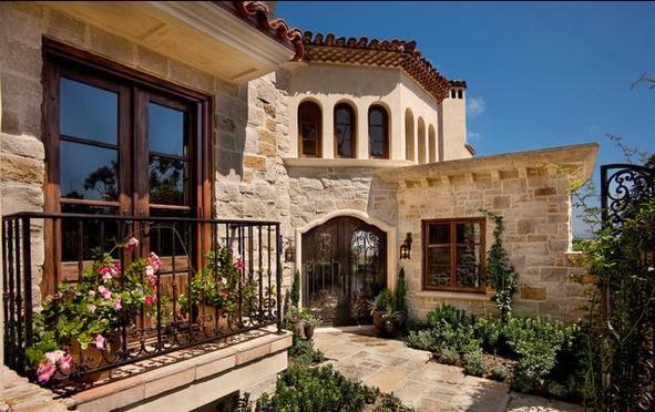 Fachadas de casas fachadas de frentes de casas for Piedra rustica para fachadas