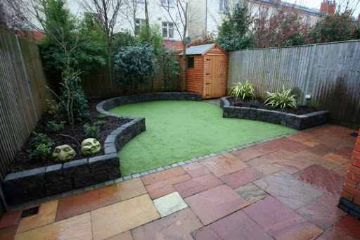 Garden design ideas for minimalist home - Ideas for small garden spaces minimalist ...