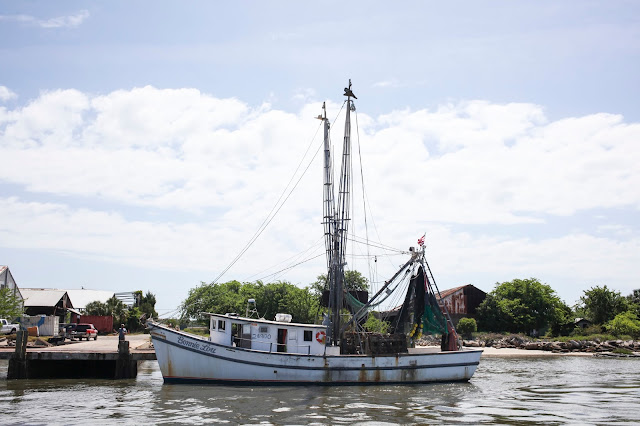 Shrimp boat in Fernandina