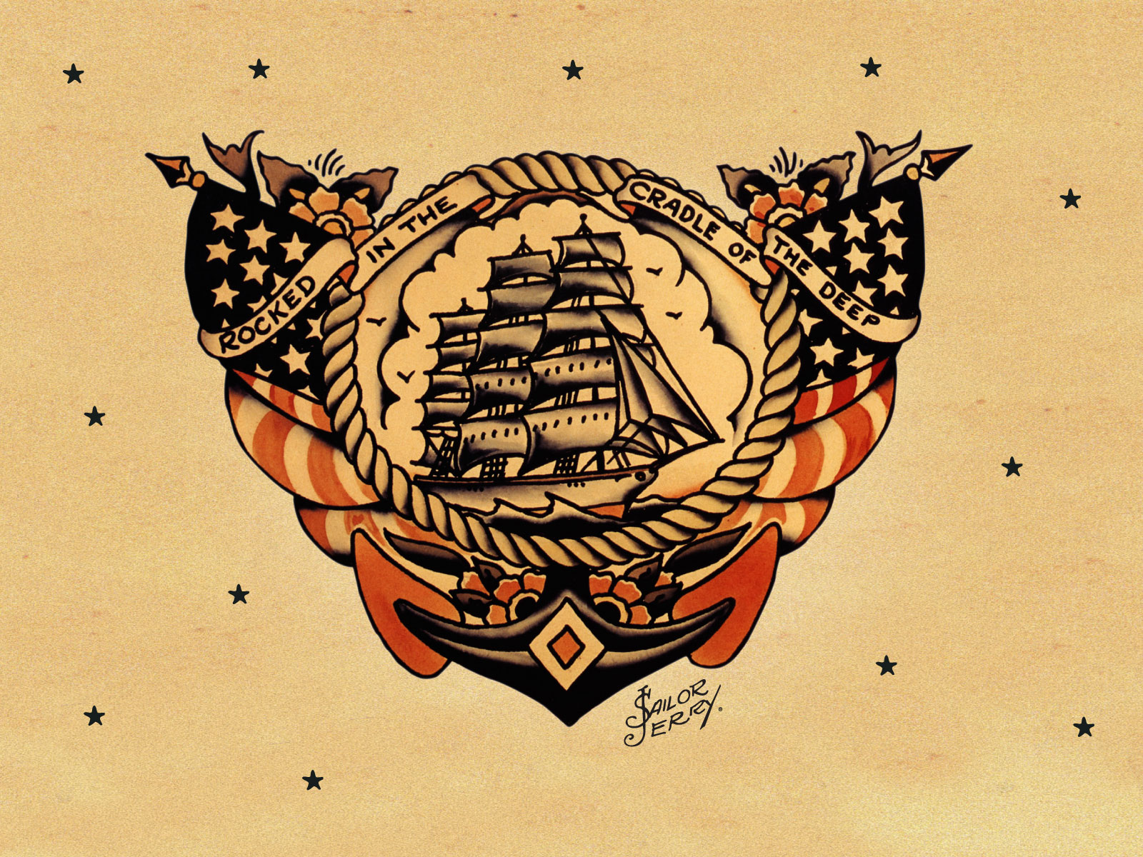 Happy 100th Birthday Norman '-Sailor Jerry'- Collins Tattoo Artist ...