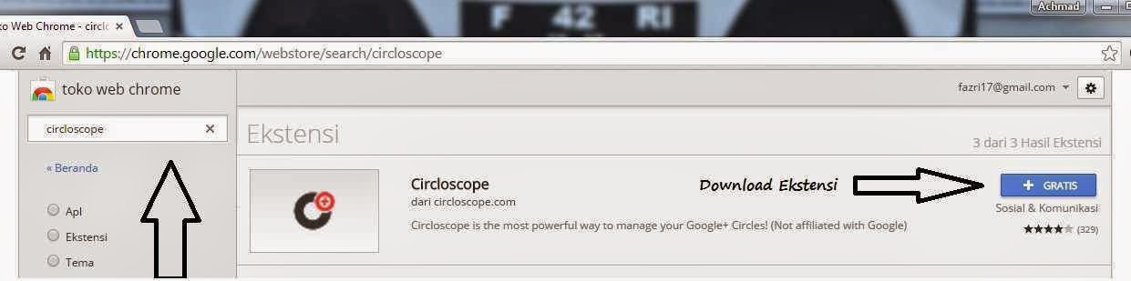 Download Ekstensi Circloscope di Toko Web Chrome