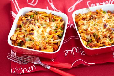 Chicken Pasta Bakes Recipe