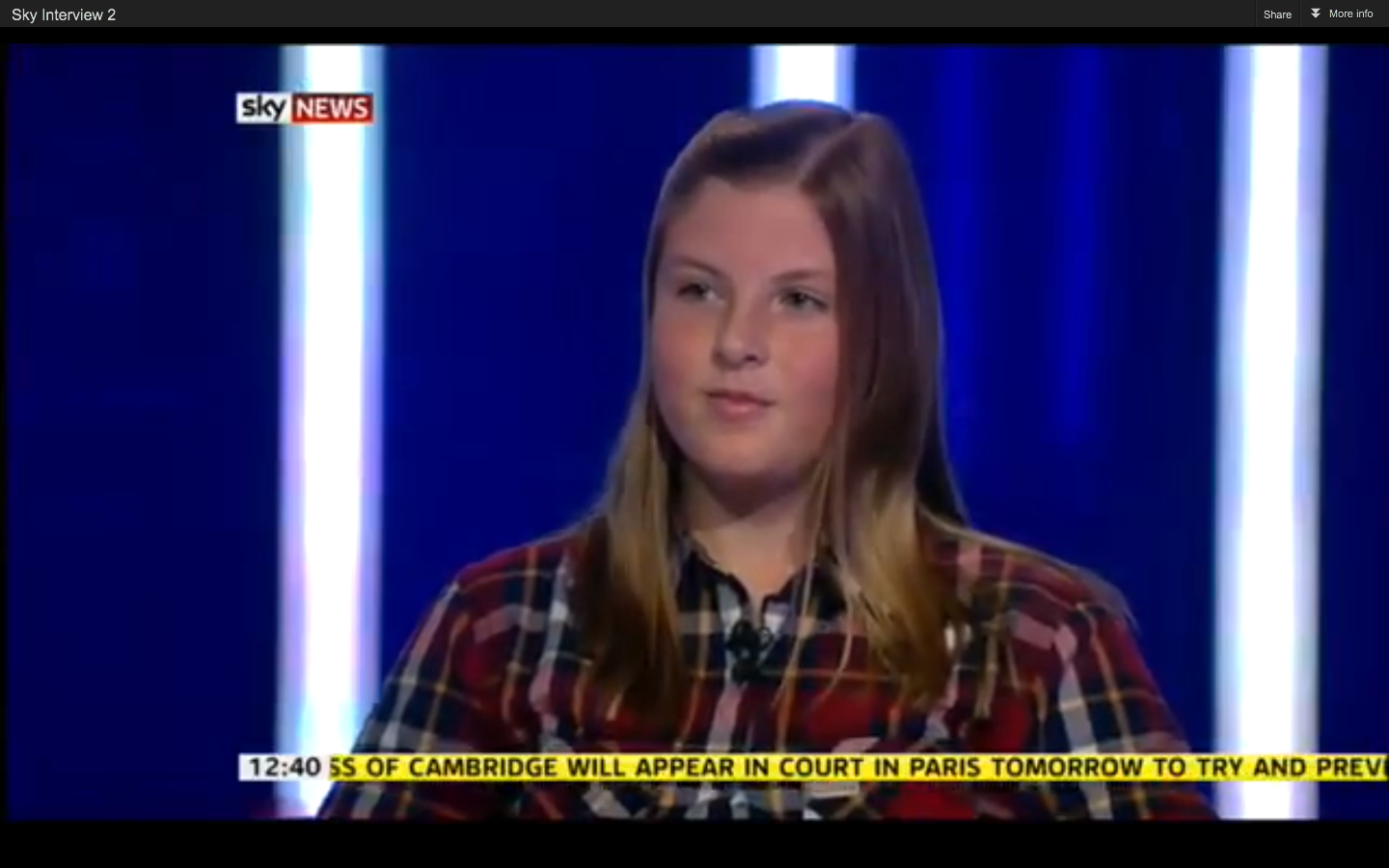 Check me out on Sky News!