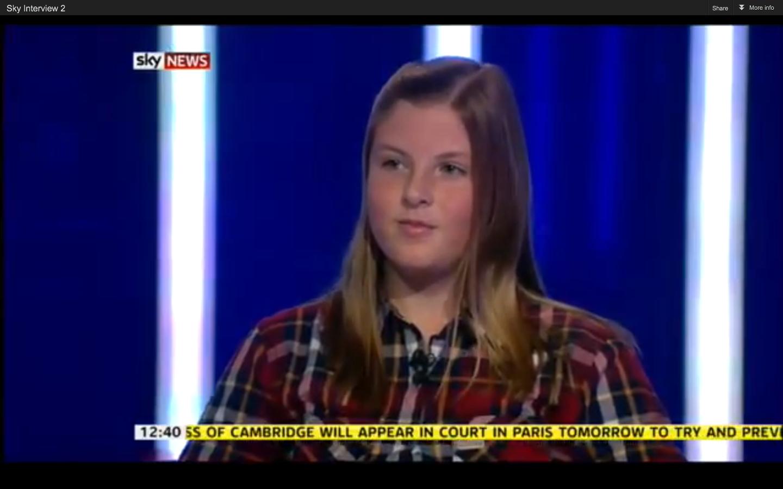 Check me out on Sky News!