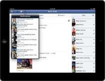 Facebook para iPad Facebook presentó su nueva aplicación