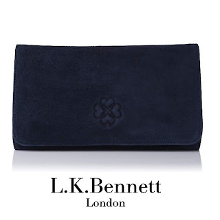 Kate Middleton wore LK BENNETT Frome Clutch Bag