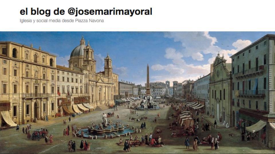 Iglesia y social media desde Piazza Navona