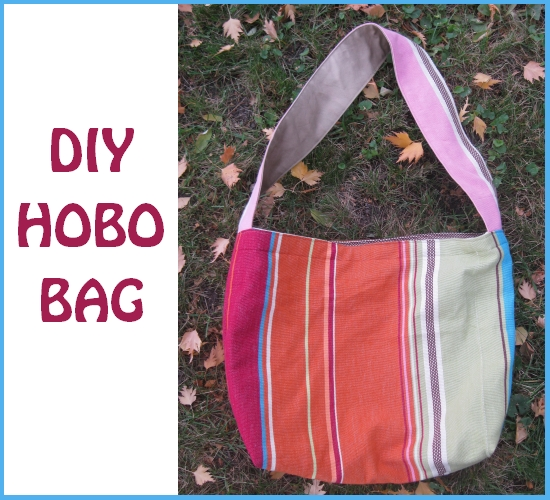 Free Hobo Bag Tutorial - Peek-a-Boo Pages - Sew Something Special