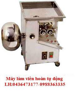 Máy làm viên hoàn tự động, máy chuyên ngành dược, máy in date, máy hàn mép túi