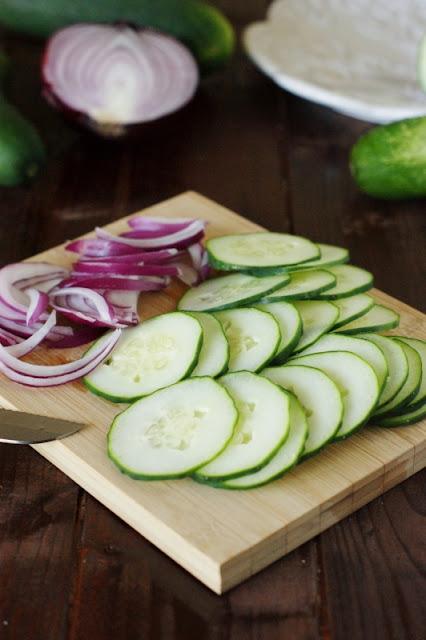 Creamy Ranch Cucumber Salad