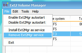 how to change file system from ext4 to ext3