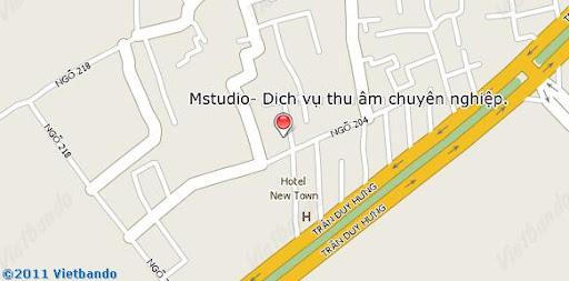 Phòng thu Hà Nội chuyên nghiệp Hà Nội