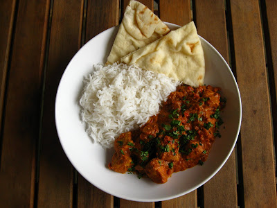 they seem to taste better the next day once the flavors have a chance to fully meld Butter Chicken (Murgh Makhini)