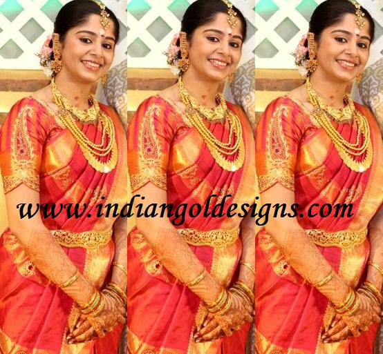 checkout beautiful south indian bridal jewellery gold necklaces