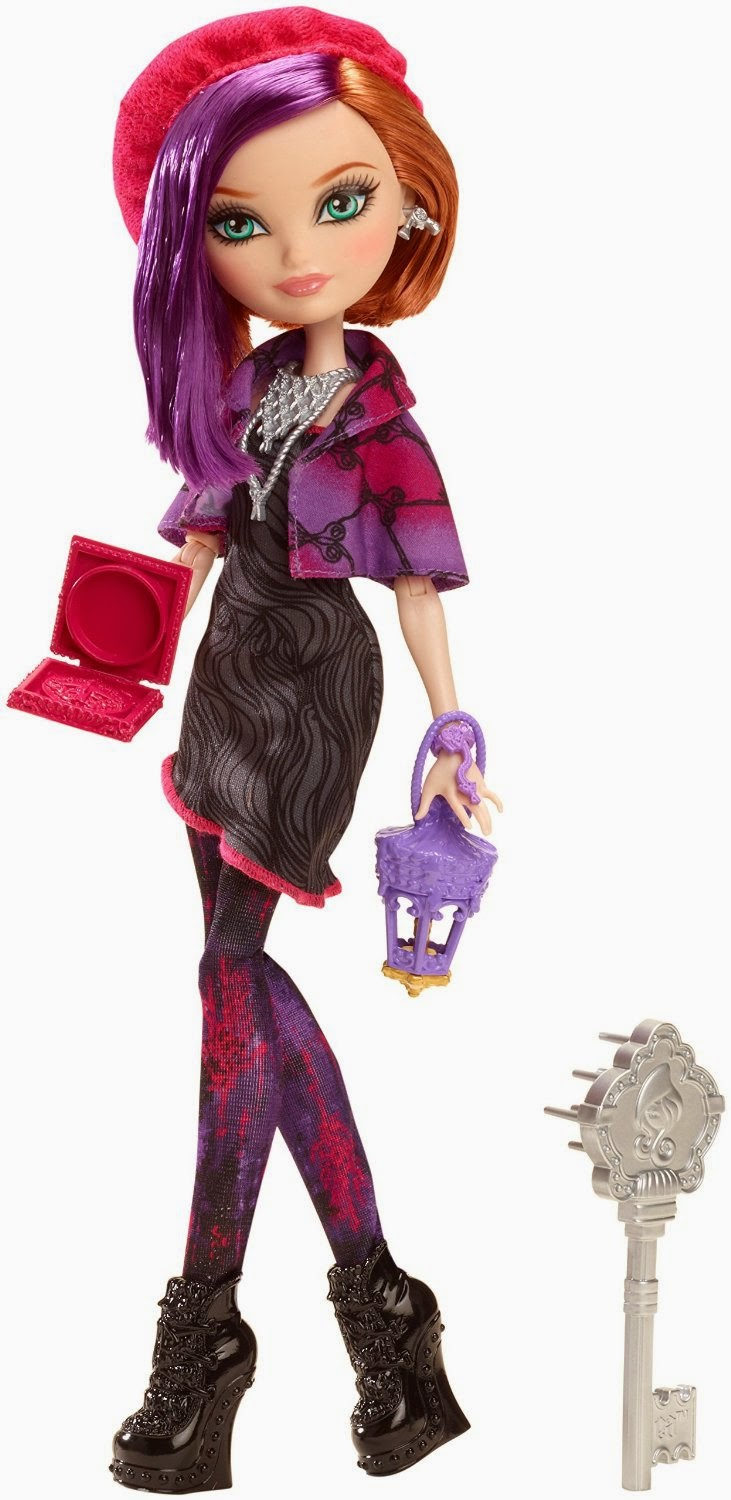 JUGUETES - EVER AFTER HIGH   Through The Woods - Poppy O'Hair | Muñeca  Producto Oficial | Mattel | A partir de 6 años