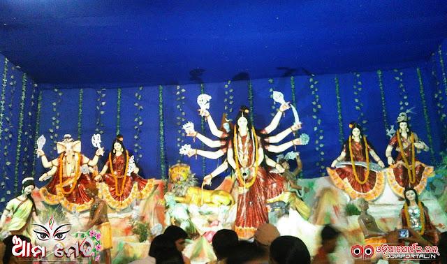 Ama Medha: Paradip Port Banijya Sangha Medha From Badapadia, Paradip - Photo By Sunakar Majhi (Kanha)