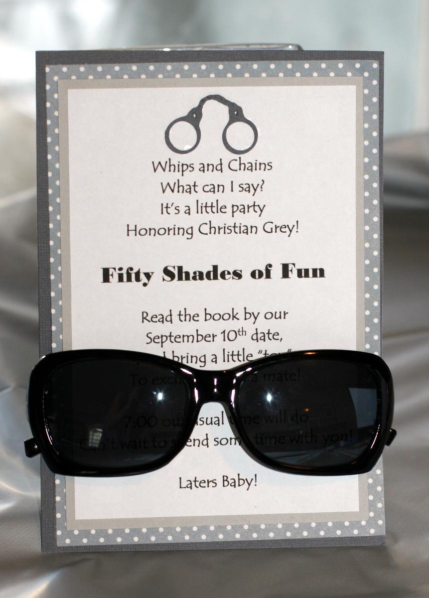 Invite and Delight Fifty Shades of Fun