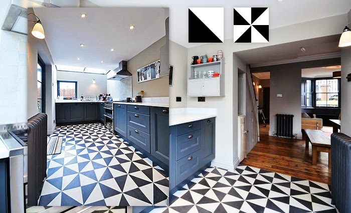 The styled life cement tile for Cement tiles for kitchen