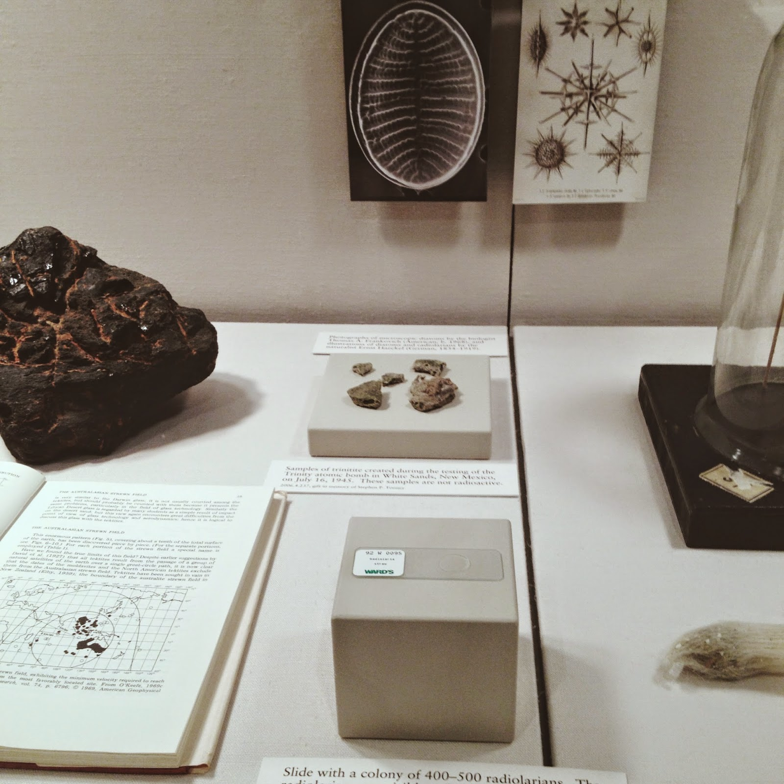 natural glass exhibit at corning museum of glass