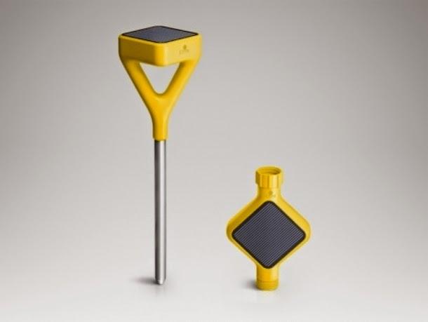 Sensor de jardim e válvula de água Edyn