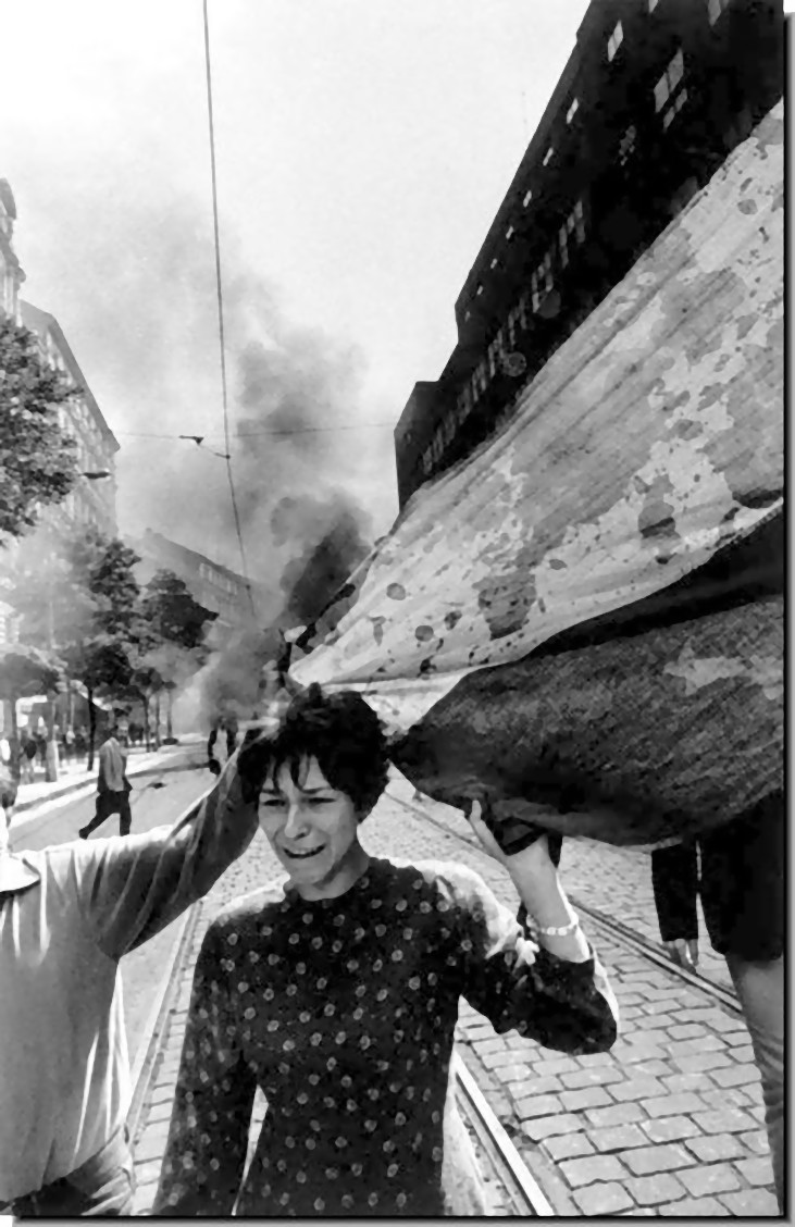 """a history of the 1968 invasion of czechoslovakia The """"prague spring"""" of 1968 would be tragically short-lived, as soviet troops moved decisively to crush the pro-democracy movement in czechoslovakia."""