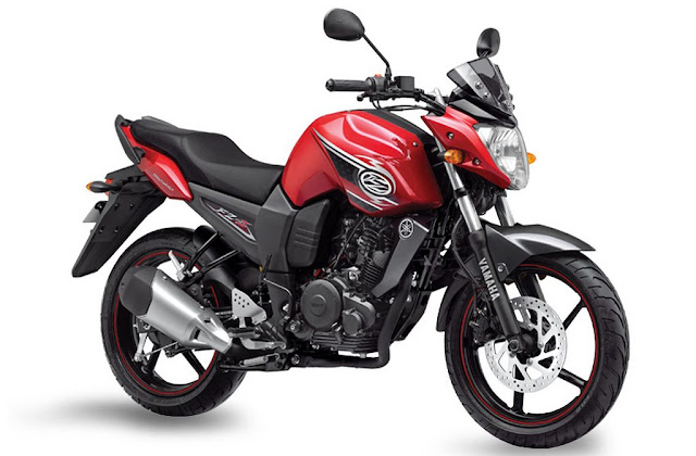 Yamaha FZ-S Raging Red