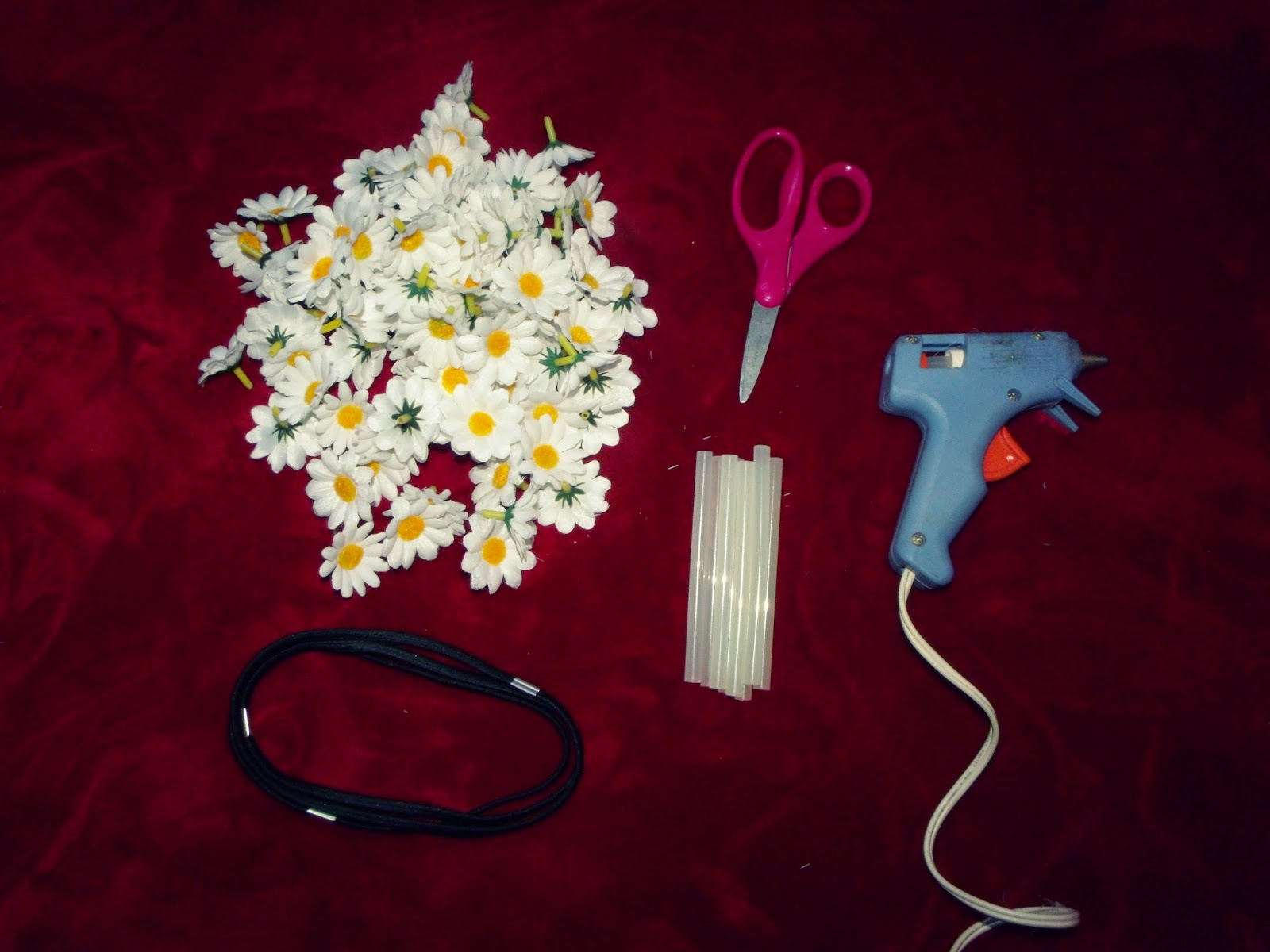 Basically Bella Easy Diy Tumblr Inspired Daisy Headband Flower