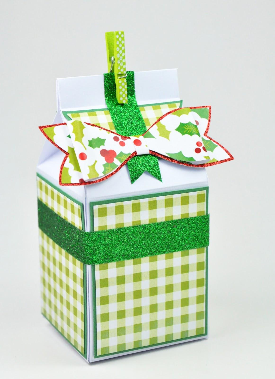 #94A526 Lilouscrappe: Petites Boîtes Gourmandes Au Couleurs  5521 décorations de noel traditionnelles 1162x1600 px @ aertt.com