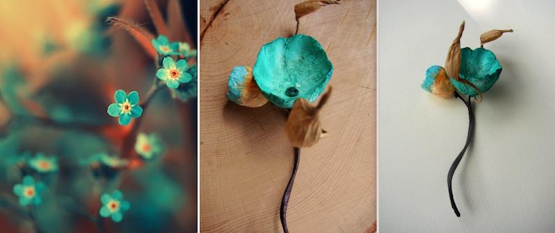 boutonniere per matrimonio ecologico acquamarina. Wedding inspiration colors