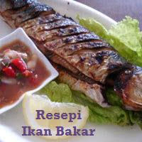 Resepi Ikan Bakar