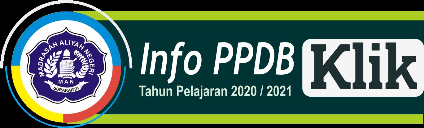 Info PPDB Reguler 2020 / 2021