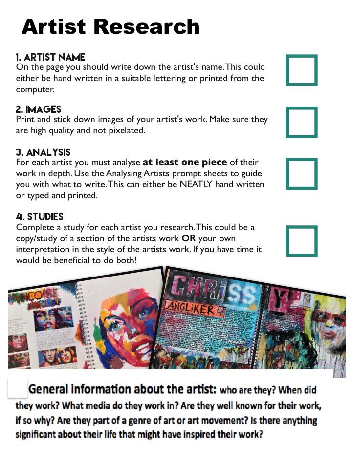 Gcse art homework help