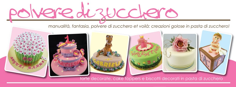 Polvere di Zucchero: cake design e sugar art. Corsi decorazione torte,biscotti,cupcakes e fiori