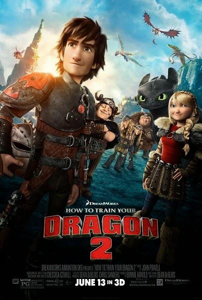 Como Entrenar a tu Dragon 2 – DVDRIP LATINO