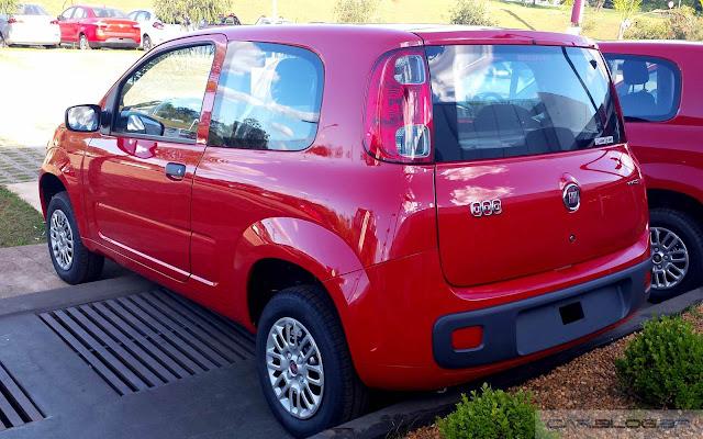 Novo Fiat Uno Vivace 2016