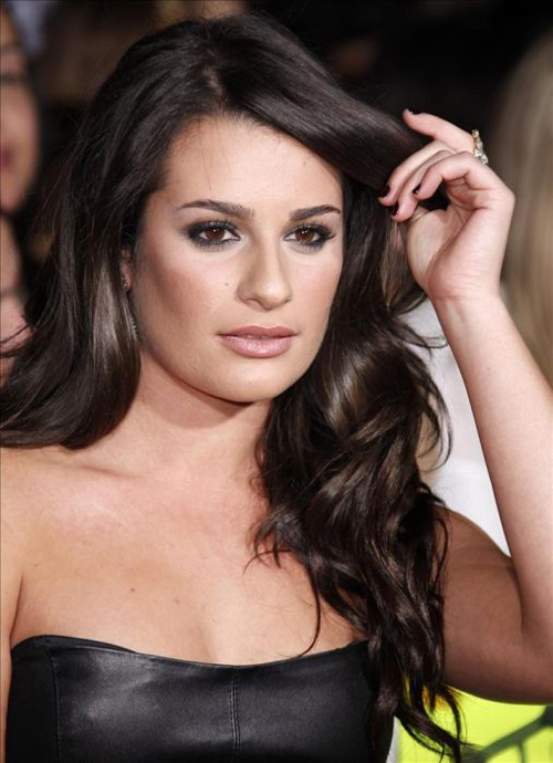 Lea Michele Hairstyles 7