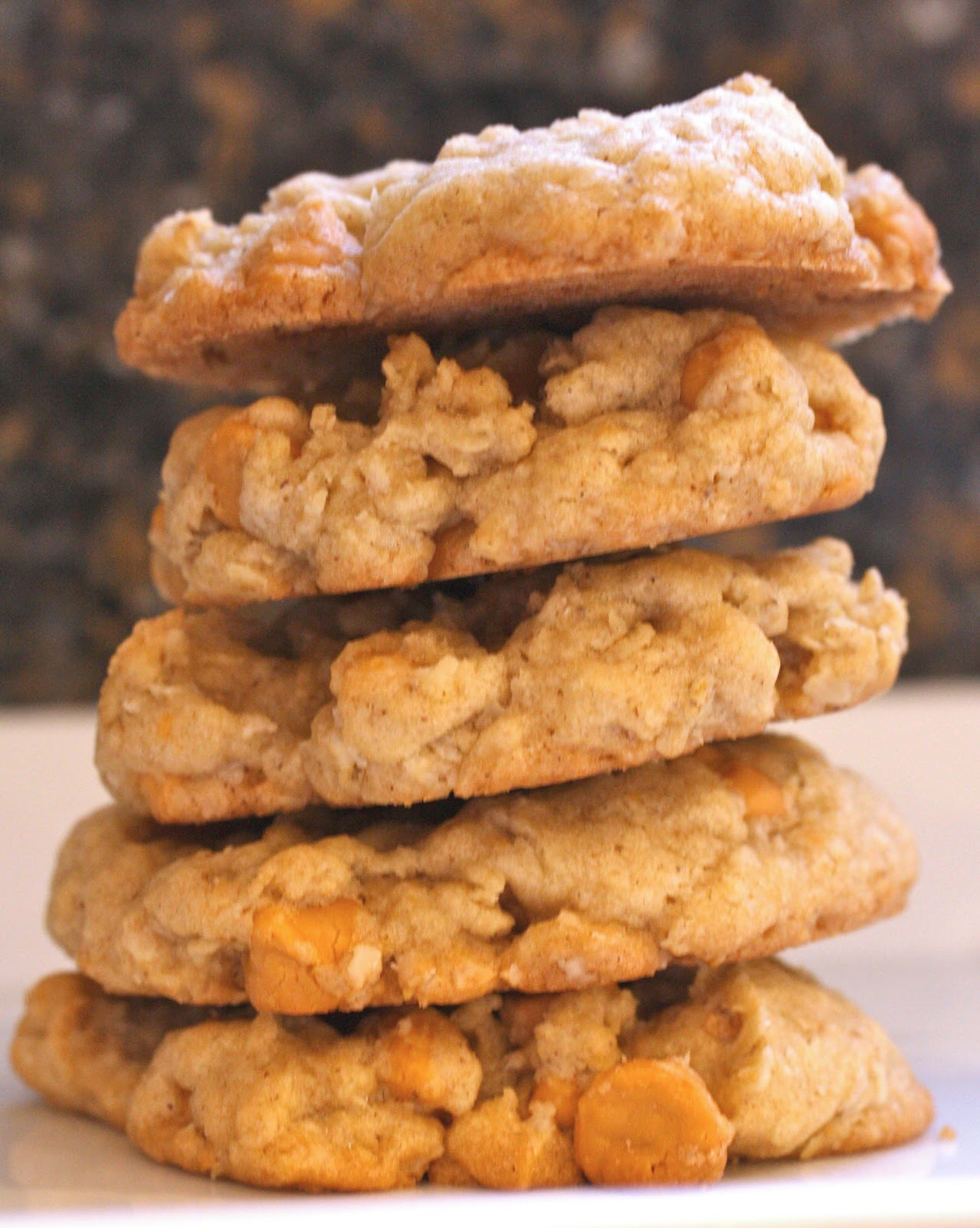 Simply Silver...: Oatmeal Butterscotch Cookies