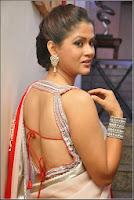 TV Anchor Shilpa Chakravarthy bare back Hot Photos