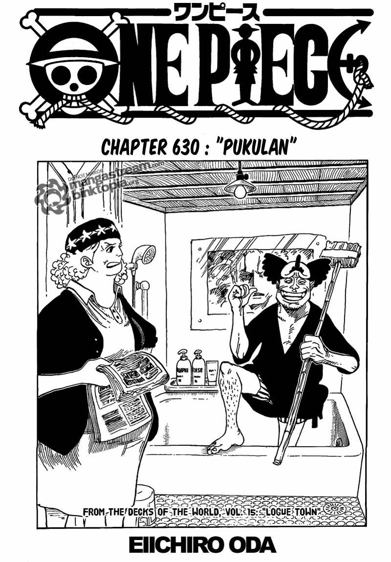 Komik manga Page02 shounen manga one piece