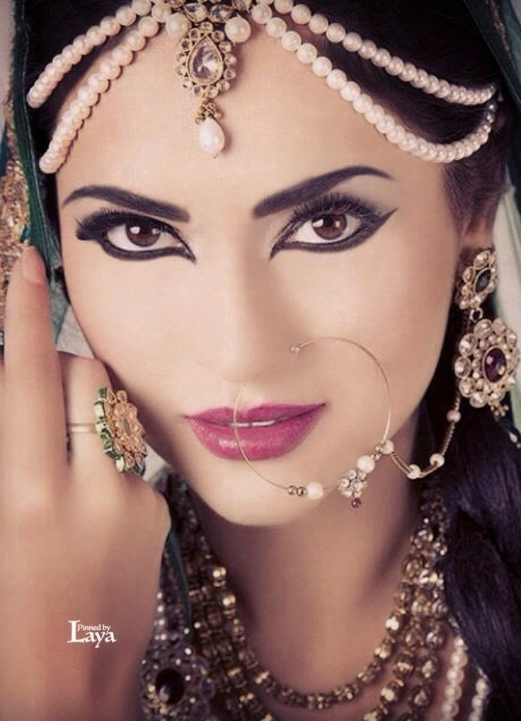 bridal makeup look 2015 ~ Pak Fashion
